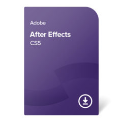 Adobe After Effects CS5 (DE) – trajno lastništvo elektronsko potrdilo
