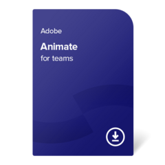 Adobe Animate for teams (EN) – 1 leto digital certificate